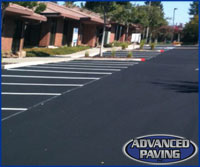 Asphalt Speed Bumps Vacaville